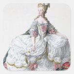 Marie Antonieta (1752-93) de 'DES Estam de Receuil Calcomania Cuadradas