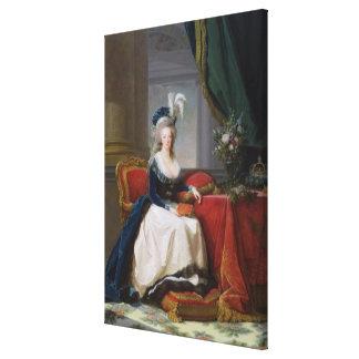 Marie-Antonieta 1788 Impresiones En Lienzo Estiradas