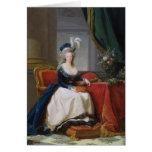 Marie-Antonieta 1788 Tarjeta De Felicitación