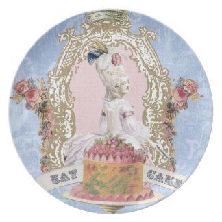 Marie Antonieta-Come la placa de la torta… Plato De Cena