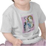 Marie Antonieta con el Bluebird Camisetas