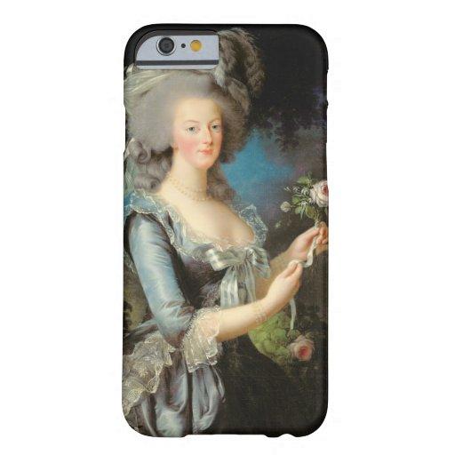 Marie Antonieta con un color de rosa, 1783 Funda De iPhone 6 Barely There