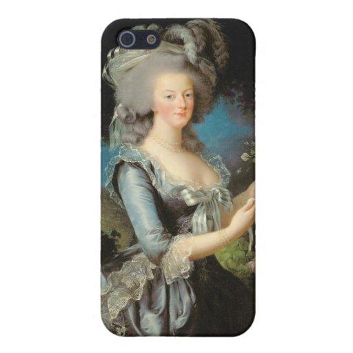 Marie Antonieta con un color de rosa, 1783 iPhone 5 Cárcasas