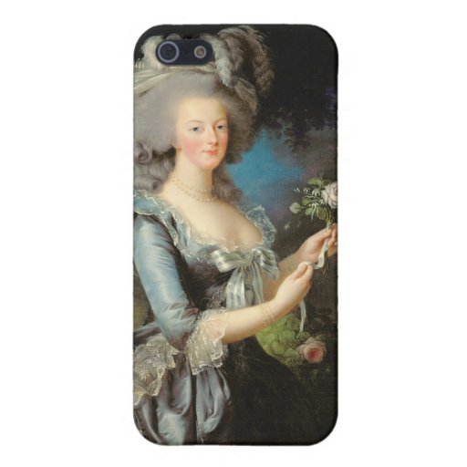 Marie Antonieta con un color de rosa, 1783 iPhone 5 Cobertura