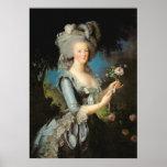Marie Antonieta con un color de rosa, 1783 Impresiones