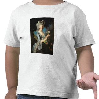 Marie Antonieta con un color de rosa 1783 Camiseta
