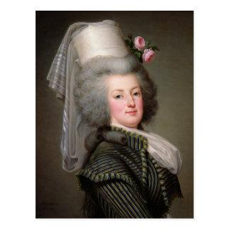 Marie-Antonieta de Habsburgo-Lorena Postal