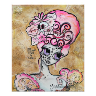 Marie Antonieta, Dia de los Muertos Cojinete