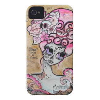 Marie Antonieta Dia de los Muertos Case-Mate iPhone 4 Cárcasas