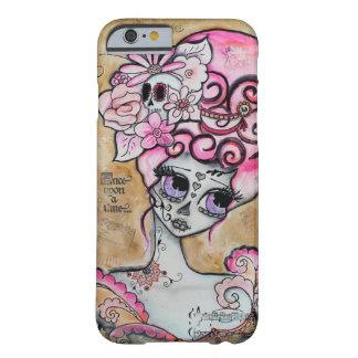 Marie Antonieta, Dia de los Muertos Funda Barely There iPhone 6