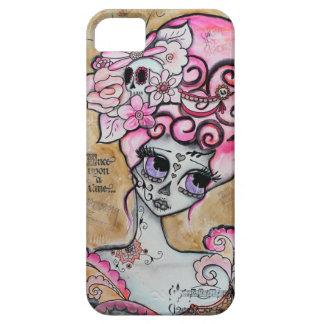 Marie Antonieta, Dia de los Muertos Funda Para iPhone SE/5/5s