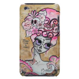 Marie Antonieta, Dia de los Muertos iPod Case-Mate Cobertura
