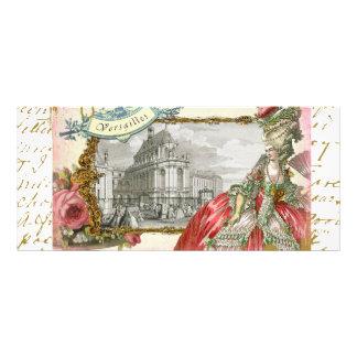 Marie Antonieta en el castillo francés Versalles Lonas Personalizadas