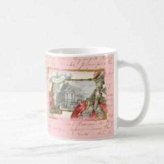 Marie Antonieta en la taza de Versalles