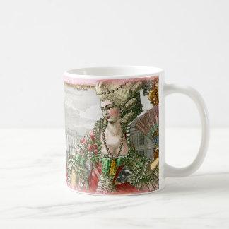Marie Antonieta en la taza del palacio de