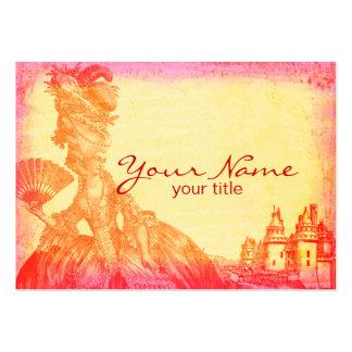 Marie Antonieta en las tarjetas de visita de la pu