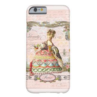 Marie Antonieta en rosa Funda Barely There iPhone 6