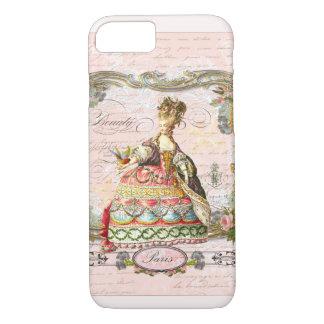 Marie Antonieta en rosa Funda iPhone 7