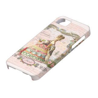 Marie Antonieta en rosa Funda Para iPhone SE/5/5s
