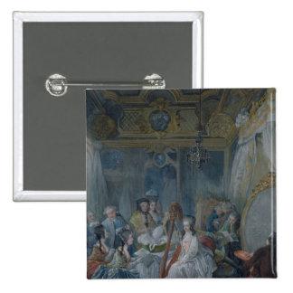 Marie Antonieta en su cámara en Versalles Pins
