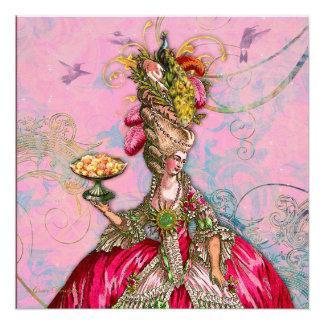 Marie Antonieta los dejó comer la torta Invitaciones Personalizada