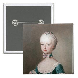 Marie Antonieta Pin Cuadrada 5 Cm