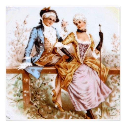 Marie Antonieta y marido Anuncio