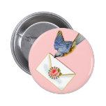 Marie Antonieta y Pin del botón del Bluebird