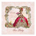 Marie Antonieta y rosas rosados Comunicado Personal