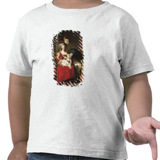 Marie-Antonieta y sus niños 1787 Camiseta