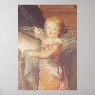 Marie-Antonieta y sus niños Posters