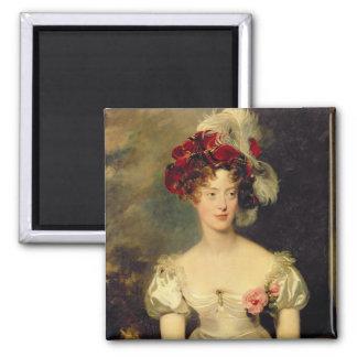 Marie-Caroline de Bourbon  Duchesse de Berry 2 Inch Square Magnet