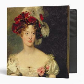 Marie-Caroline de Bourbon  Duchesse de Berry Binder
