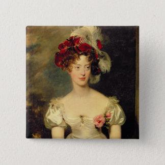 Marie-Caroline de Bourbon  Duchesse de Berry Pinback Button