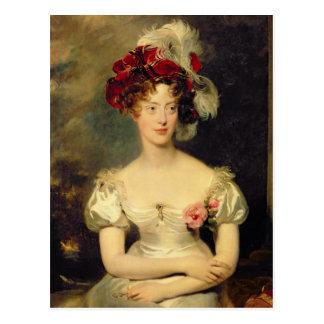 Marie-Caroline de Bourbon  Duchesse de Berry Postcard