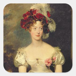 Marie-Caroline de Bourbon  Duchesse de Berry Square Sticker