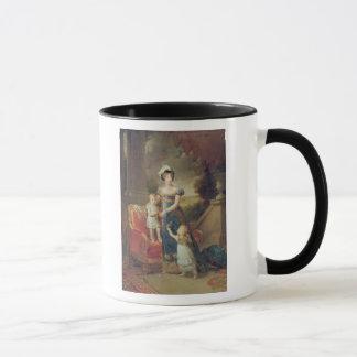 Marie-Caroline de Bourbon  with her Children Mug