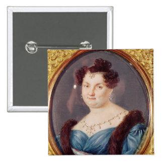 Marie-Christine de Borbón Pin Cuadrada 5 Cm