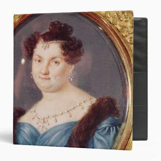 Marie-Christine de Bourbon 3 Ring Binder