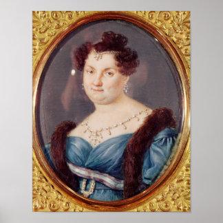 Marie-Christine de Bourbon Poster