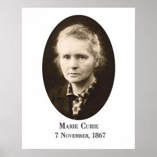 Marie-Curie Art Print