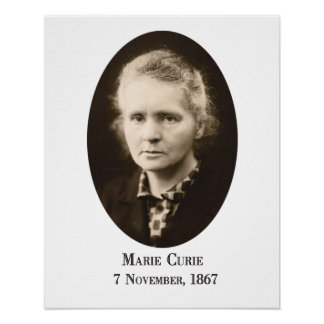 Marie-Curie Art Print Poster