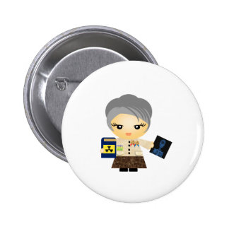 Marie Curie Button