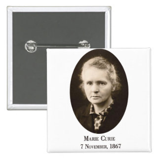 Marie-Curie Button Pinback Buttons