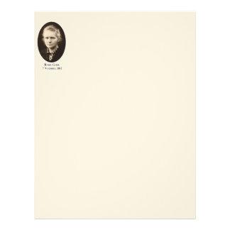 Marie-Curie Letterhead