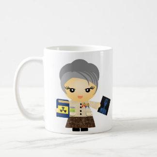 Marie Curie Classic White Coffee Mug