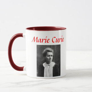 Marie Curie Portrait Mug