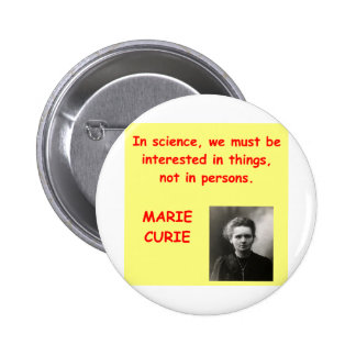 Marie Curie quote Pin