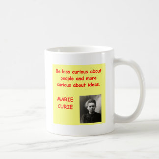 Marie Curie quote Coffee Mug
