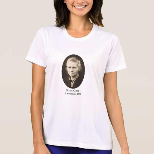 Marie Curie Woman's Shirt